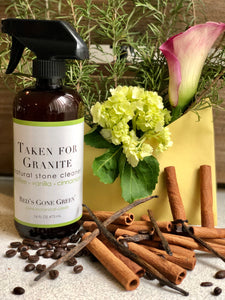 Coffee Vanilla Cinnamon Granite & Natural Stone Cleaner