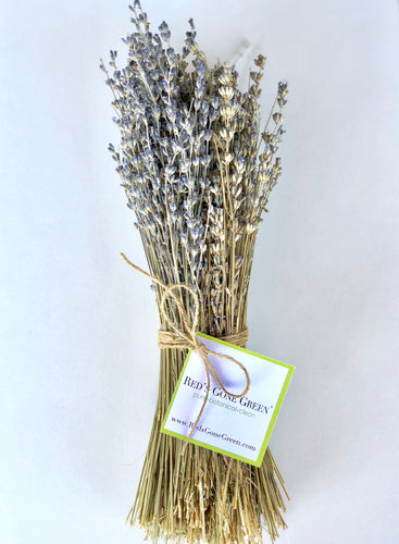 Dried English lavender bundle