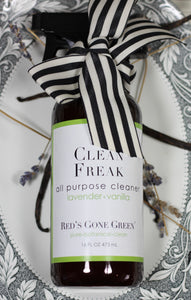 lavender vanilla <br>  Clean Freak <br> all purpose cleaner