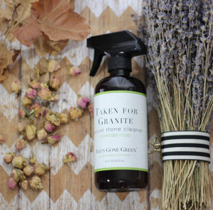 Lavender Rose Natural Stone Cleaner