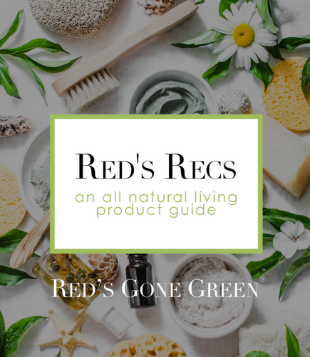 Red's Gone Green all natural living product guide E Book