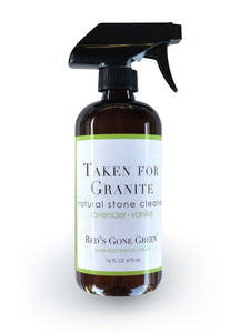 image of Red's Gone Green Lavender Vanilla Granite and Natural Stone Cleaner