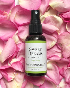 all natural Tyler rose pillow spritz spray