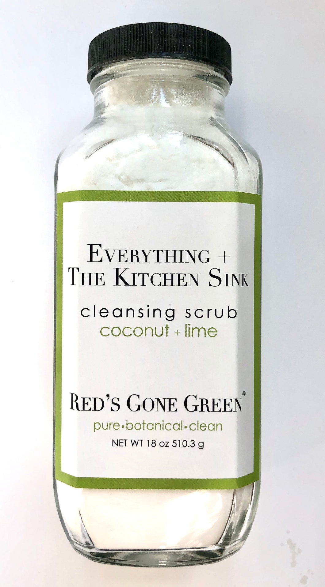 Coconut Lime Cleansing Scrub French Square