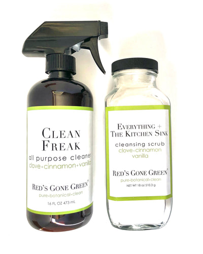 Everything The Kitchen Sink Cleansing Scrubs Red S Gone Green