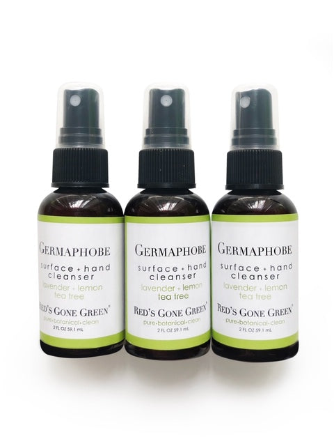 Lavender Lemon Tea Tree Hand and Surface Cleanser, pack of 3