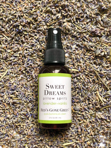 lavender vanilla all natural pillow spray
