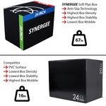 3 In 1 Soft Plyo Boxes Home Gym Tech