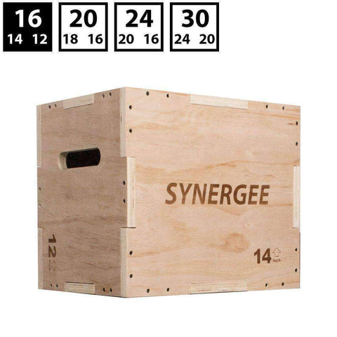 3-In-1 Wood Plyo Box - Home Gym Tech