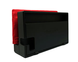 Ruby Red - Padded Dock Cover Made For Nintendo Switch - Active Patch