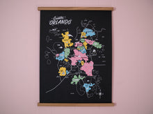 Greater Orlando Map Poster — 18ʺ×24ʺ