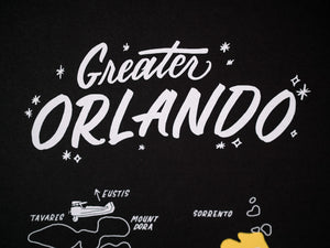 Wholesale — Greater Orlando Map Posters — Minimum order 5