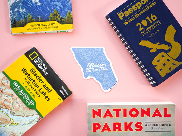 Glacier Nat'l Park Sticker