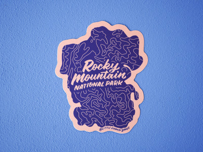 Rocky Mountain Nat'l Park Sticker