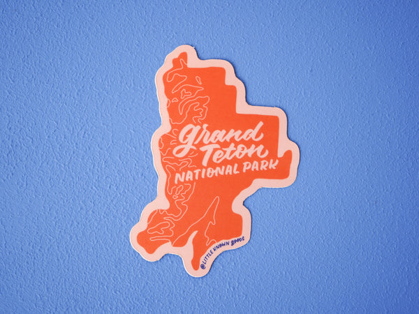 Grand Teton Nat'l Park Sticker