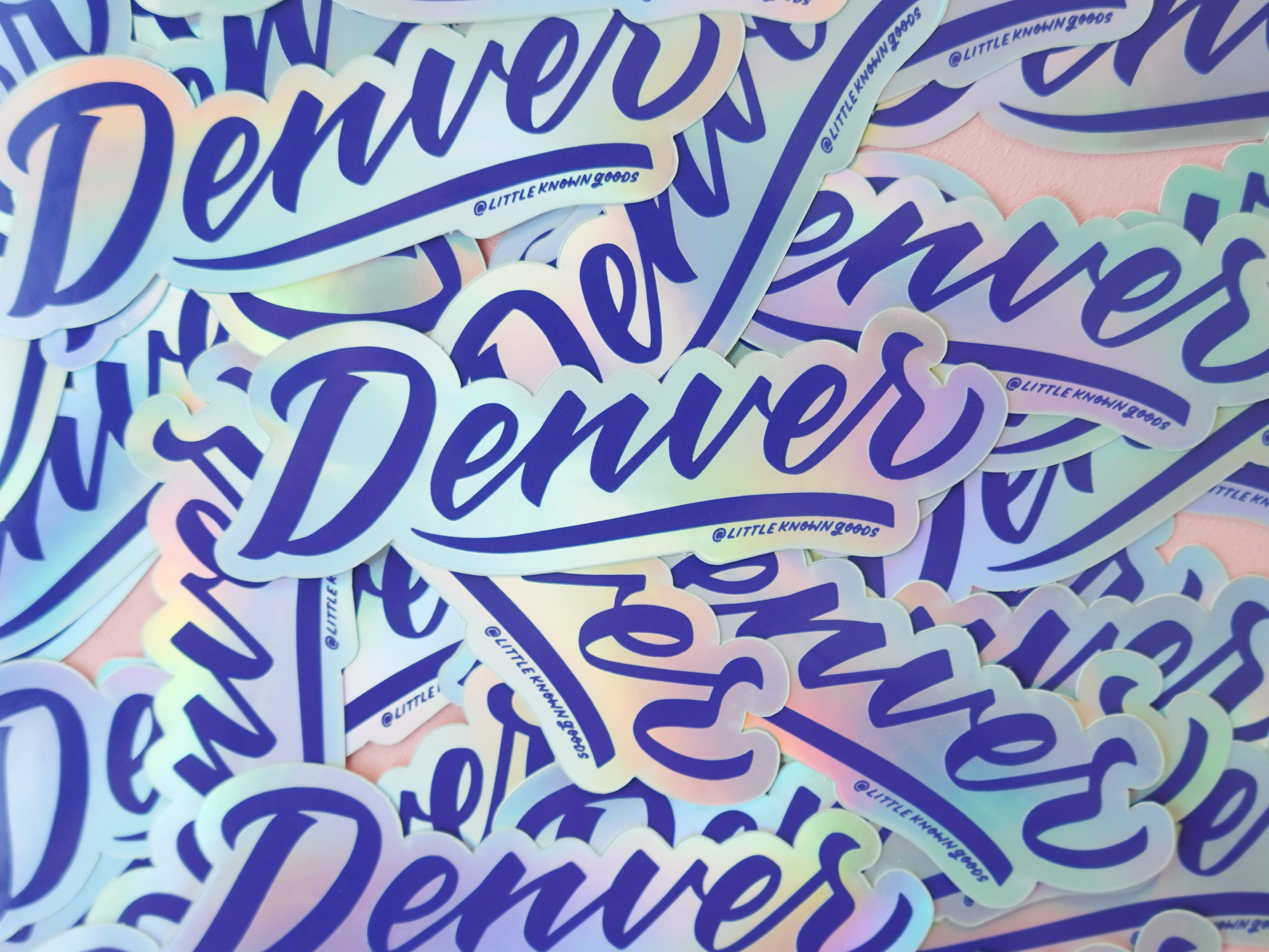 Wholesale — Denver Holographic Sticker