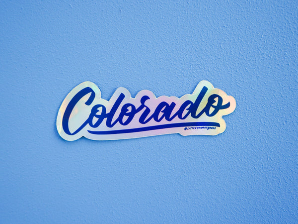 Wholesale — Colorado Holographic Sticker