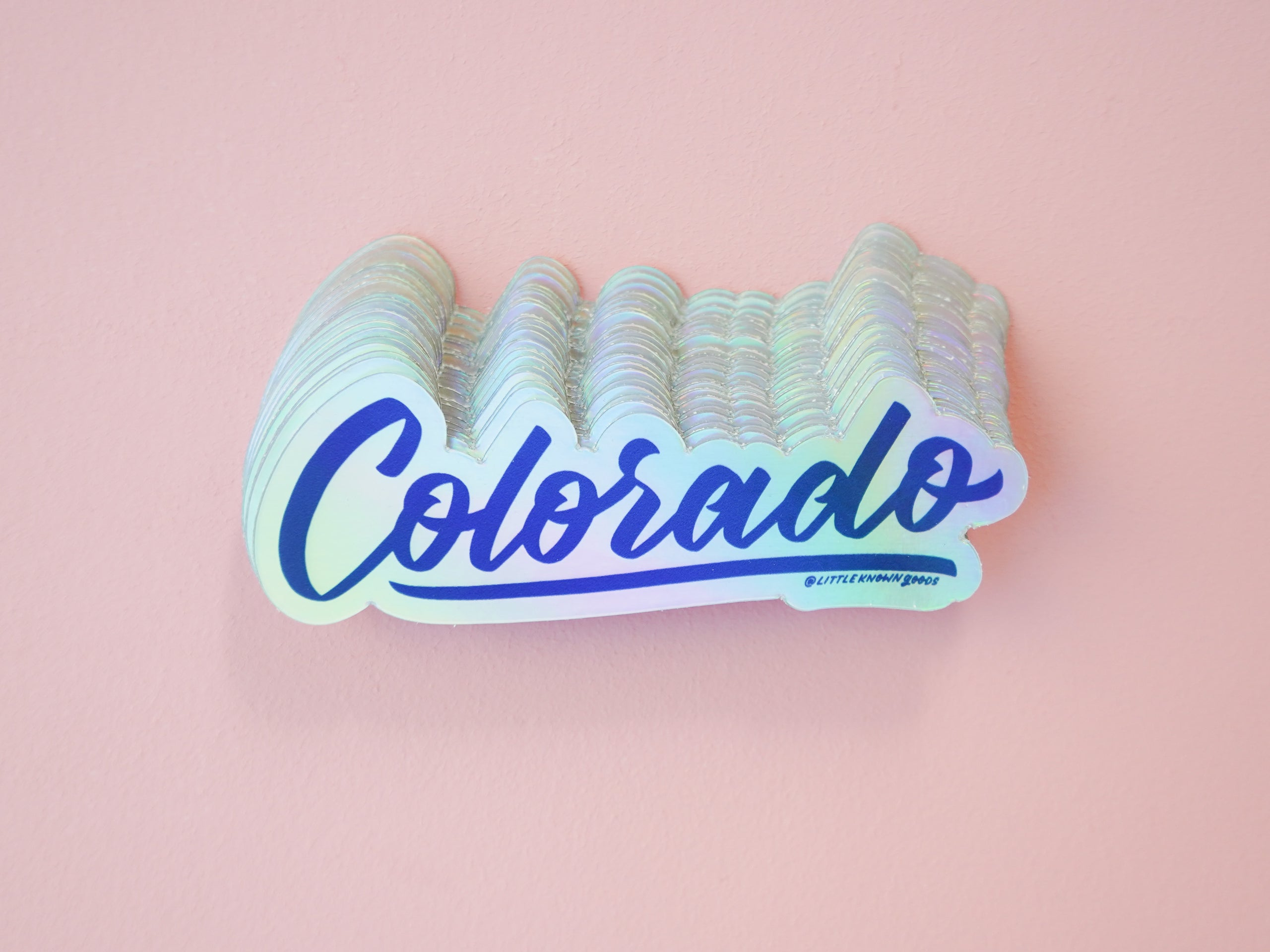 Colorado Holographic Sticker