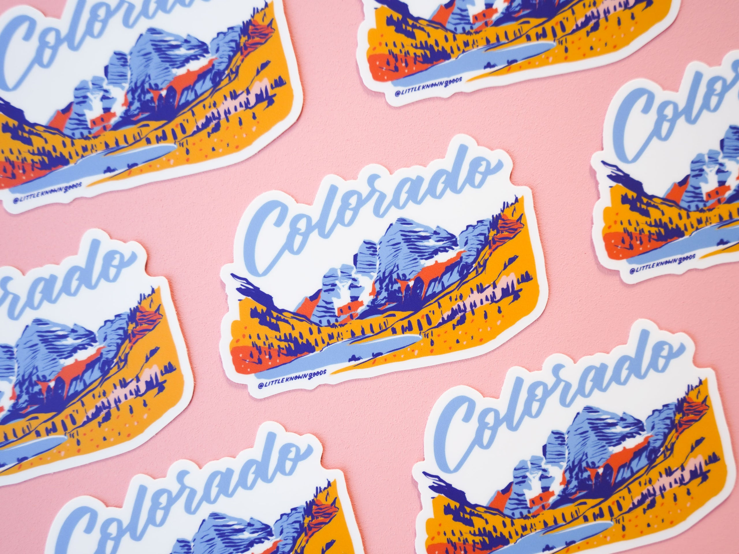 Colorado Maroon Bells Sticker