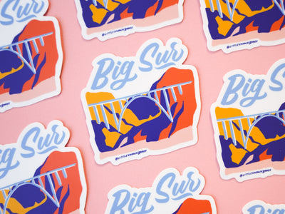 Big Sur Bixby Sticker