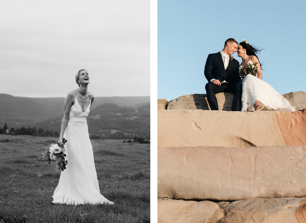 dual images - blue mountains wedding photographer