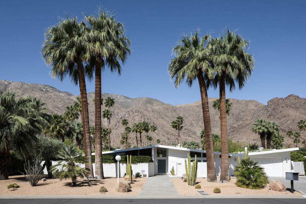 mid century home Palm Springs