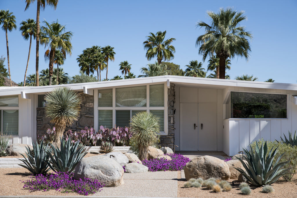 mid century Palm Springs home