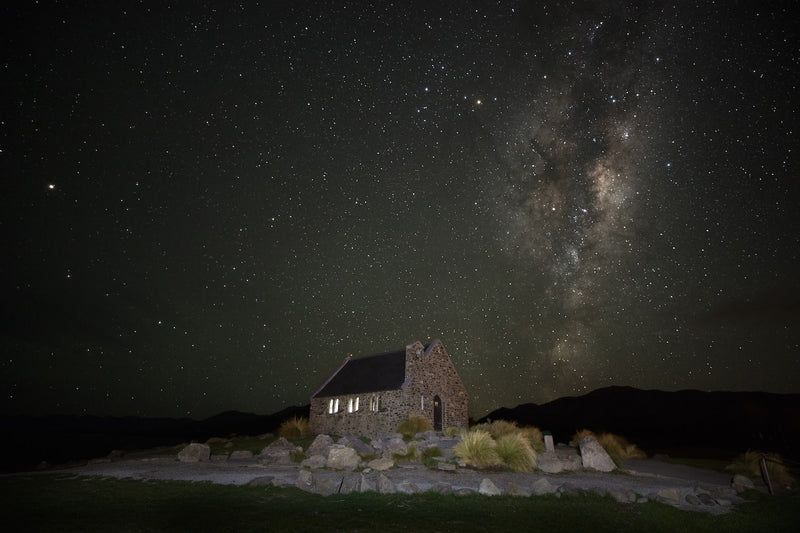 Astro Fine Art Photography - Church Of The Good Shepard