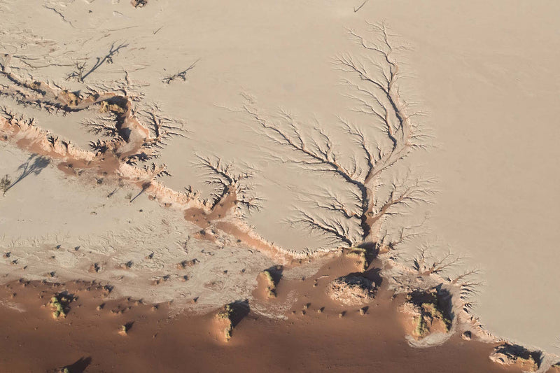 Aerial Fine Art Photography - Deadvlei Pan, Namibia