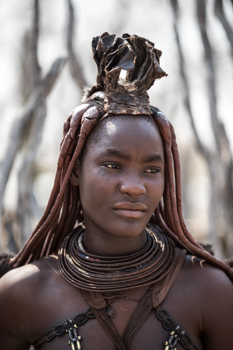 Tribal Fine Art Photography - Himba Woman