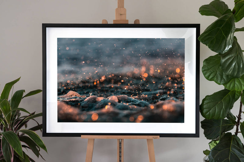 framed ocean fine art photography