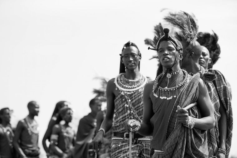 Tribal Fine Art Photography - Maasai
