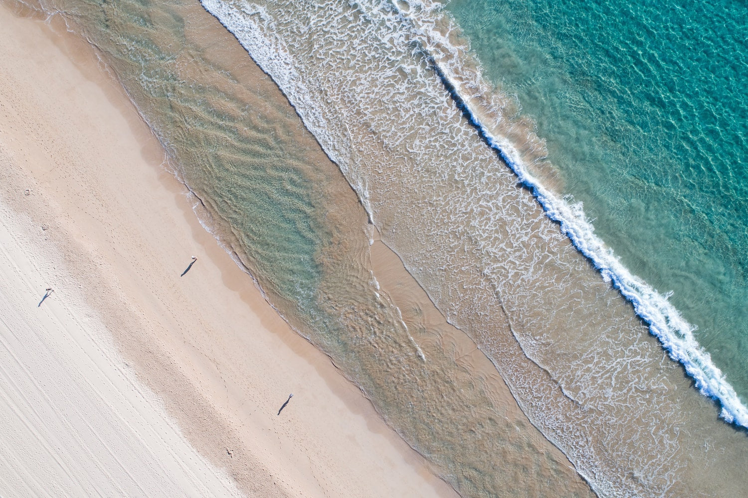 Aerial Fine Art Photography - Manly Lines