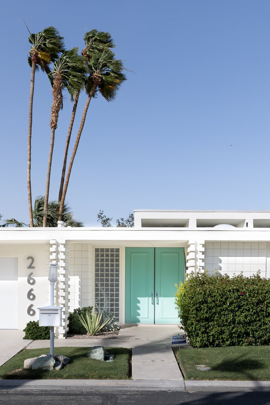 Palm Springs Fine Art Photography - Aqua Door