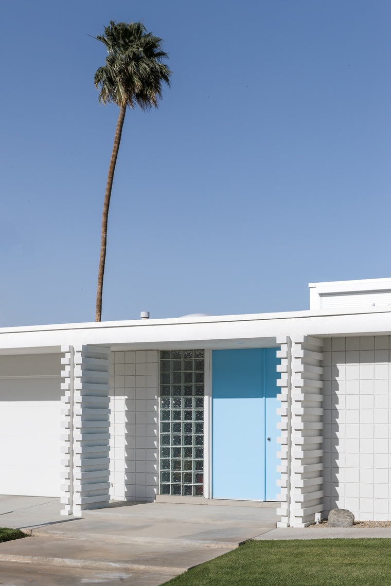 Palm Springs Fine Art Photography - Blue Door