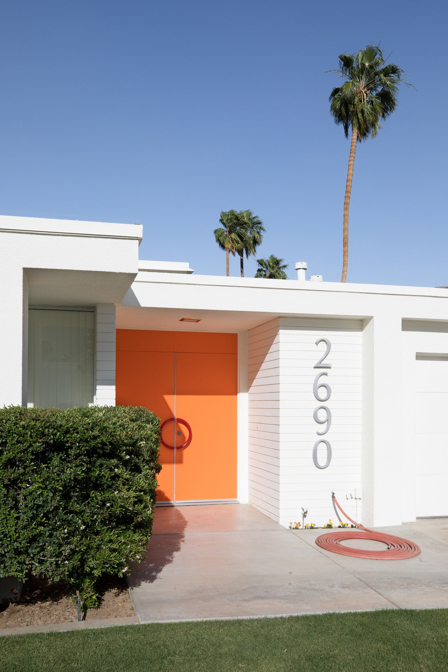 Palm Springs Fine Art Photography - Orange Door