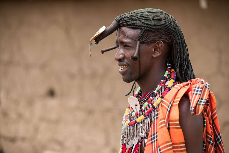 Tribal Fine Art Photography - Maasai Profile