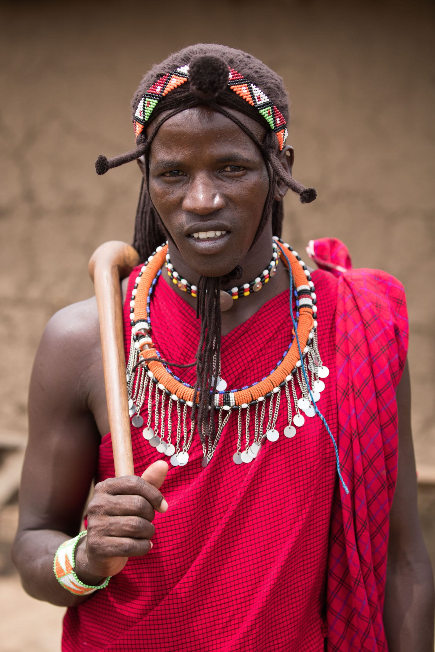 Tribal Fine Art Photography - Maasai Portrait