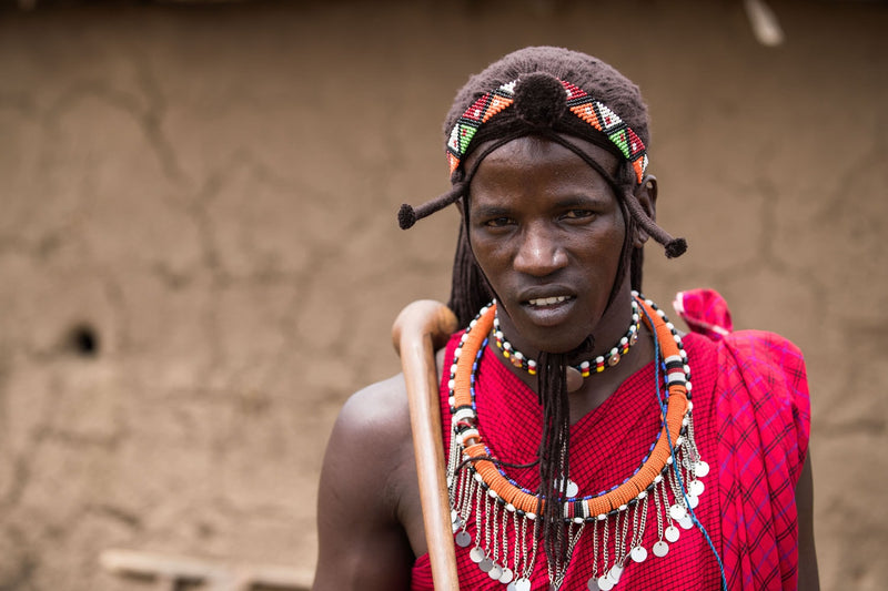 Tribal Fine Art Photography - Maasai Warrior