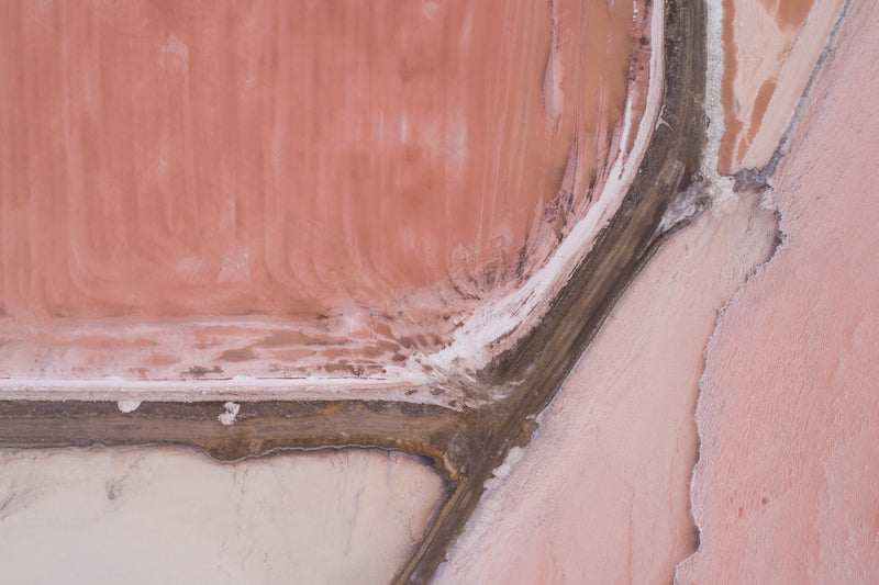 Aerial Fine Art Photography - Salt Pan