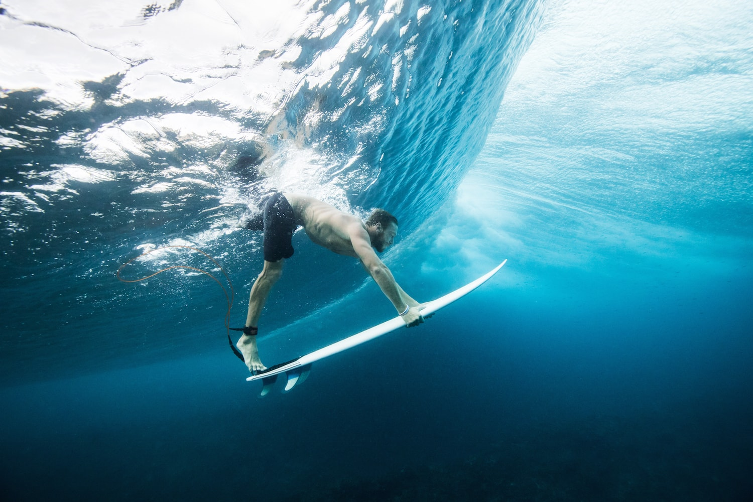 Surfing Fine Art Photography - Duck Dive