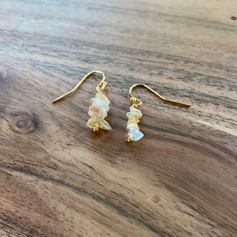 Citrine Stack Earrings