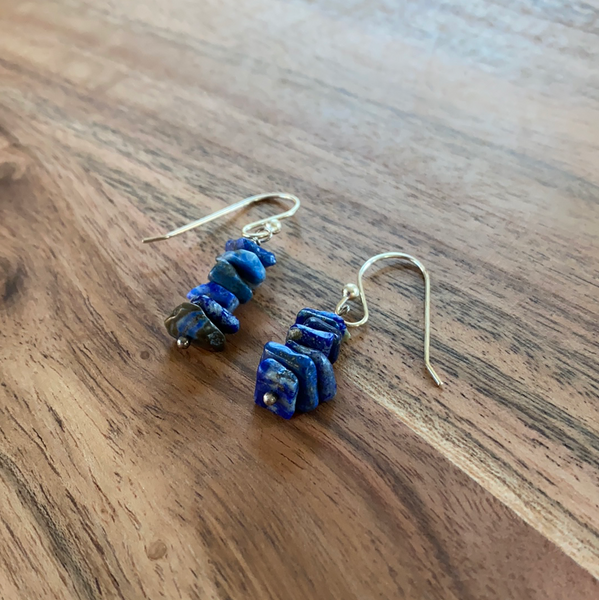 Sodalite Stack Earrings