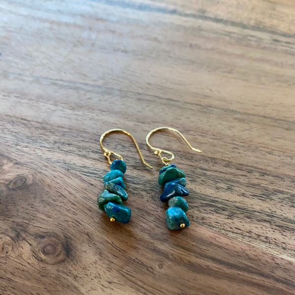 Lapis Stack Earrings