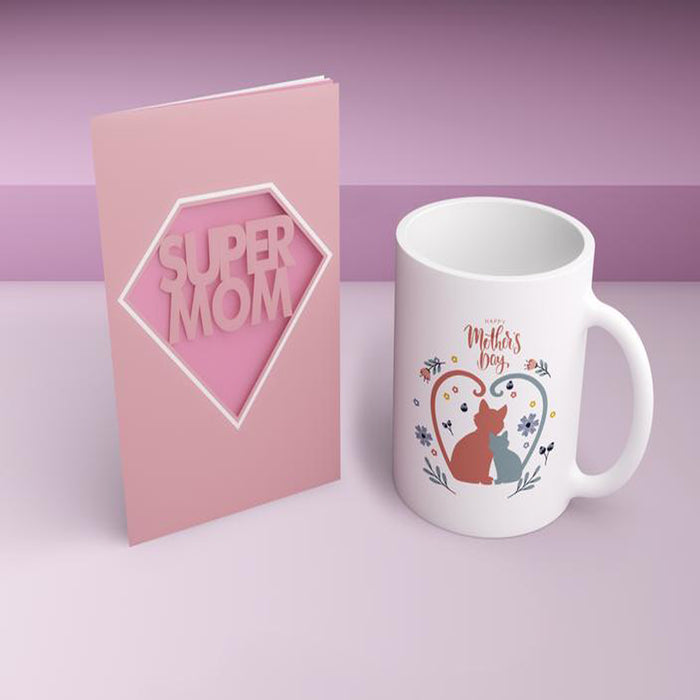 Mother's Day Cat Mug