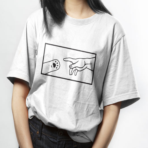 The Creation of Cat Square Box Tee