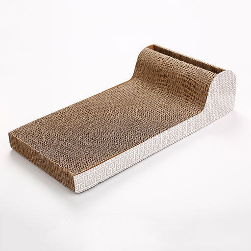P Shape Cardboard Cat Scratcher