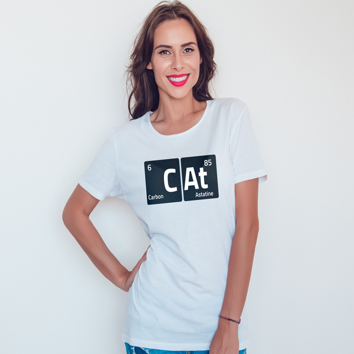 Cat Chemistry Tee - Assorted Colors