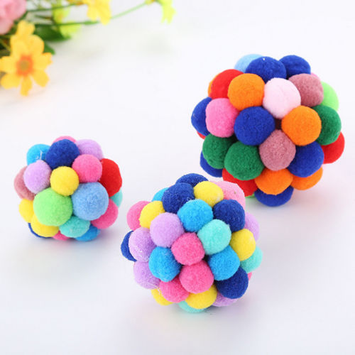 Cat Colorful Catnip Ball Toy