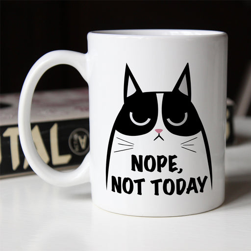 Nope, Not Today Cat Mug